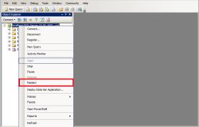 SQL Server Error 18456 Restart Option
