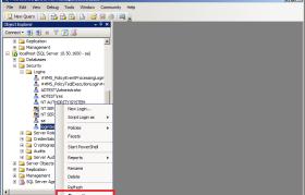 SQL Server Error 18456 Login Properties